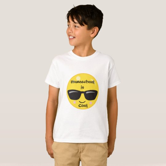 Cool Emoji Homeschool T-Shirt