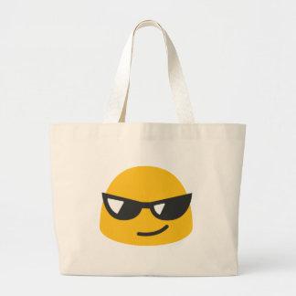 Cool Emoji Large Tote Bag