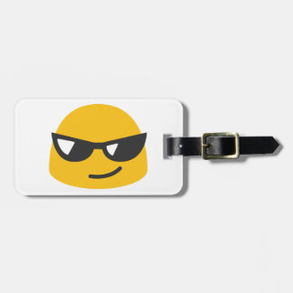 Cool Emoji Luggage Tag