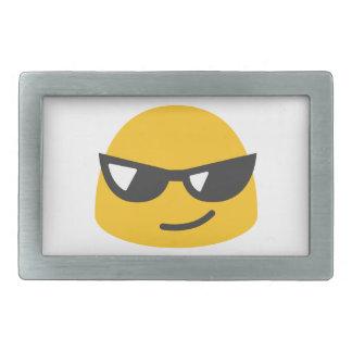 Cool Emoji Rectangular Belt Buckles