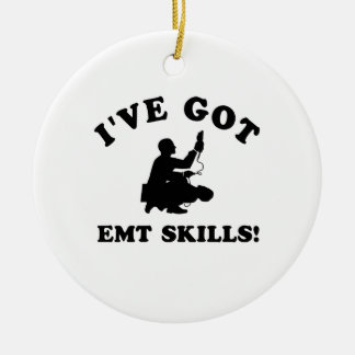 Cool EMT SKILLS  designs Christmas Ornament