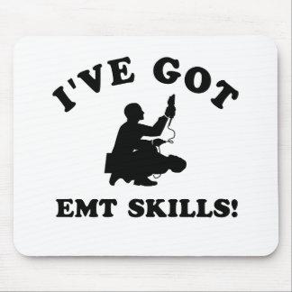 Cool EMT SKILLS  designs Mouse Pad