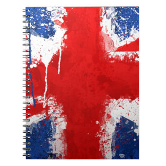 Cool England flag Notebook