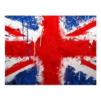 Cool England flag Postcard