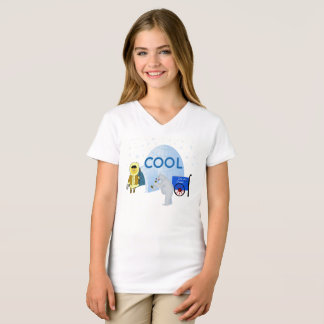 Cool Eskimo and Polar Bear T-Shirt