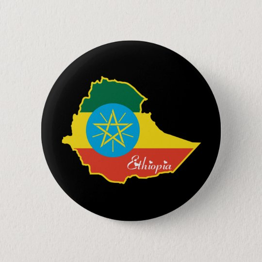 Cool Ethiopia 6 Cm Round Badge
