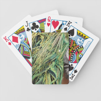 Cool Exotic Peacock Feathers Bicycle Playing Cards