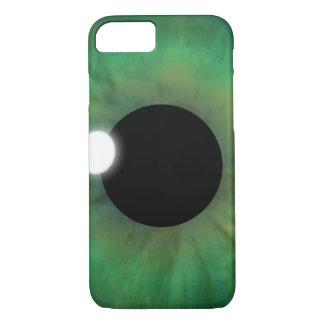 Cool eyePhone Green Eye Iris Eyeball Closeup Slim iPhone 8/7 Case