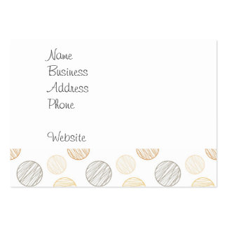 Cool Faded Colorful Balls of Yarn Pattern Gifts Pack Of Chubby Business Cards