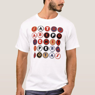 Cool famous Latin palindrome T-Shirt