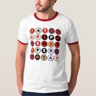 Cool famous Latin palindrome T Shirt