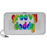 Cool Fathers Day & Hip Dads Birthdays Groovy Daddy