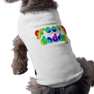 Cool Fathers Day Hip Dads Birthdays Groovy Daddy Pet Clothes