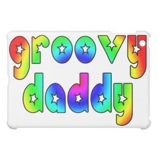 Cool Fathers Day & Hip Dads Birthdays Groovy Daddy iPad Mini Cases