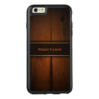 Cool Faux Baltic Pine Wood Print Manly Rugged OtterBox iPhone 6/6s Plus Case