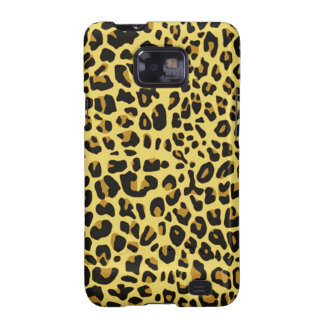 cool feline skin pattern image print galaxy s2 covers