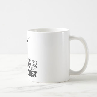 Cool fencing designs basic white mug