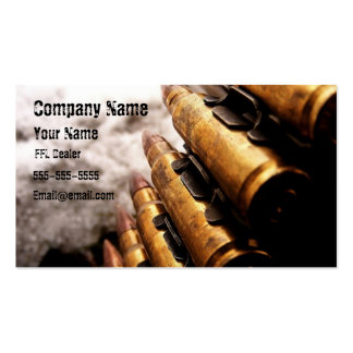 Cool ffl dealer card business cards