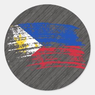 Cool Filipino flag design Stickers
