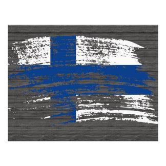 Cool Finnish flag design Full Color Flyer