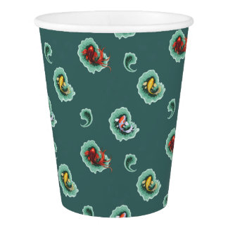 Cool Fish Pattern Paper Cup
