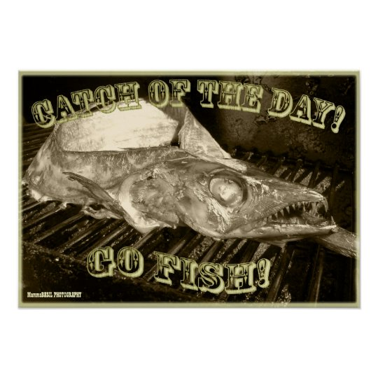 Cool Fish Poster! Poster