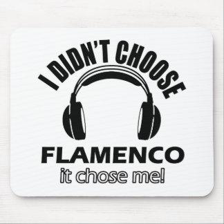 Cool flamenco designs mouse pad