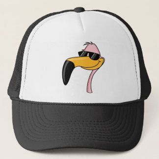 Cool Flamingo Trucker Hat