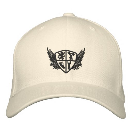 Cool Flex Cape with coats of arms logo Embroidered Baseball Caps