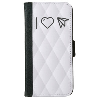 Cool Folded Planes iPhone 6 Wallet Case