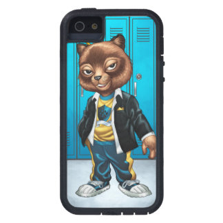 Cool For School Cat Drawing by Al Rio Cover For iPhone 5