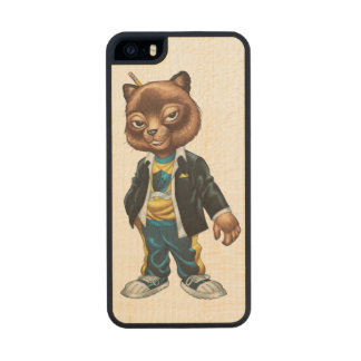 Cool For School Cat Drawing by Al Rio iPhone 6 Plus Case