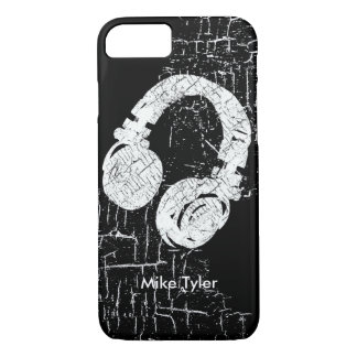 cool for the deejay - a d.j. headphone iPhone 7 case