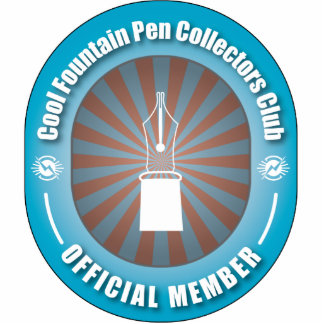 Cool Fountain Pen Collectors Club Acrylic Cut Out