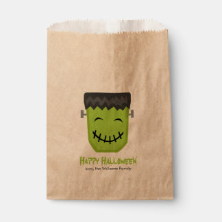 Cool Frankenstein Halloween Party Favour Bags