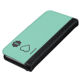 Cool Free Tags iPhone 6 Wallet Case