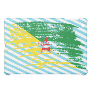 Cool French Guineans flag design Case For The iPad Mini