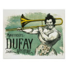 Cool French Vintage Poster with Trombone Player