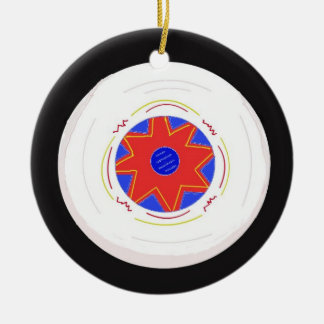 Cool Frisbee Christmas Ornament