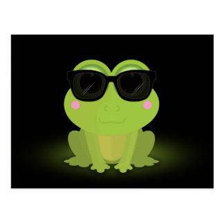 Cool Frog 2 Postcard