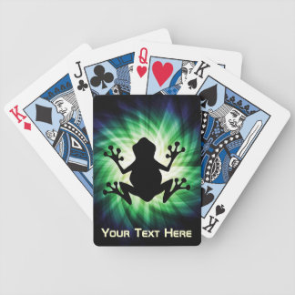Cool Frog Bicycle Playing Cards