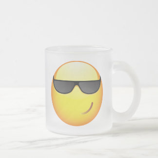 Cool Frosted Glass Mug