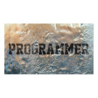 Cool Frozen Ice Programmer Business Card