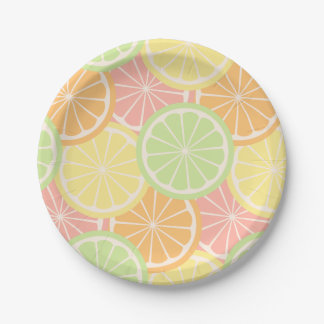 Cool Fruity Summer Birthday Party Supplies Paper Plate