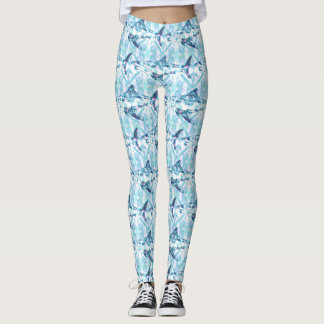 Cool Funky Shark Pattern Leggings