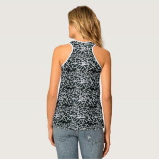 Cool Funky Spider Women Web Elegant Classic Print Tank Top