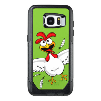 Cool Funny Cute Humorous Cartoon Chicken For Kids OtterBox Samsung Galaxy S7 Edge Case