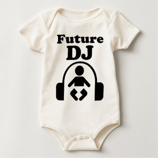 Cool Funny Future DJ Music Headphones Art T Shirt