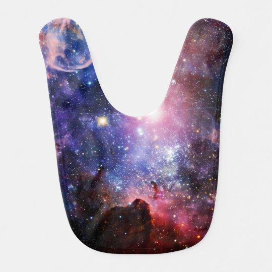 Cool galaxy nebula baby bibs