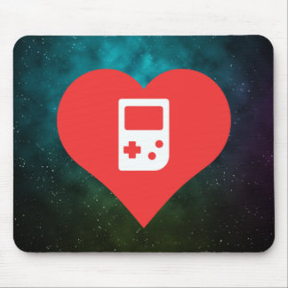 Cool Game Consoles Pictograph Mouse Pad